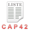 CAP42 liste