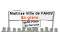 La Maîtrise Ville de PARIS en grève le 12 JUIN